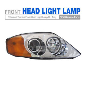 Genuine Parts Front Head Light Lamp Right For Hyundai 2002 2004 Tiburon Tuscani