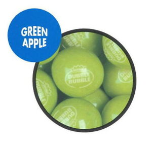 850 Green Apple 1 Dubble Bubble Gumballs Fresh Bulk Vending Gum Ball Party