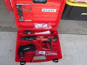 Hilti Dx 460 F10 Mx72 Powder Actuated Direct Fastening Kit New 706