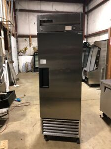 True T 23 Commercial Stainless Refrigerator Reach In Cooler Used