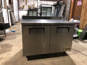 True Twt 48f 48 Commercial Worktop Freezer Used Undercounter Worktop Freeze