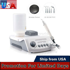 New Dental Led Cordless Control Ultrasonic Scaler With Led Detachable Handpiece