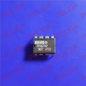 10pcs Op Amp Ic Burr brown bb ti Dip 8 Opa627ap Opa627apg4 100 Genuine And New