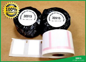 Dymo Labelwriter 30915 Postage Stamp Labels 1 5 8 X 1 1 4 White Adhesive 2 Rolls