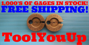 055 100 Thread Ring Gages 0550 Go No Go P d s 0485 0472 Inspection Tool
