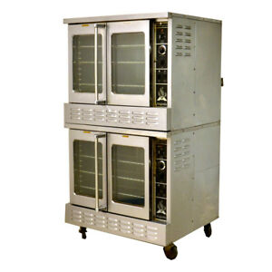 American Range Majestic Bakery Depth Heavy duty Convection Gas Oven Double stack