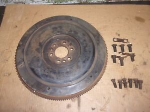 1957 Chevy Pickup 235 Engine Manual Flywheel 10 Clutch 1955 1959 56 Truck Bolts