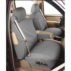Covercraft Ss2477wfgy Seatsaver Front Row Waterproof Seat Cover grey