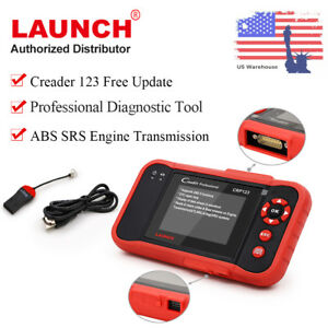 Launch X431 Crp123 Obd2 Car Diagnostic Auto Scanner Transmission Abs Srs Engine