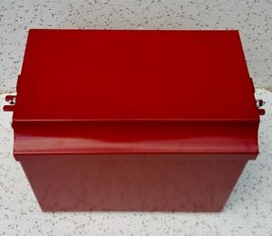 Deluxe Farmall Ih International Tractor Painted Battery Box Super M Md Mv W6