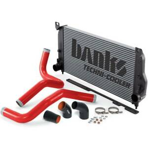 Banks Power Techni cooler Intercooler System Boost Tubes 04 05 Chevy gmc 6 6