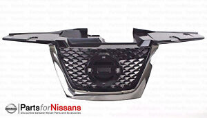 Genuine Nissan 2011 2014 Juke Front Center Blackout Grille 62072 3yw0a New Oem