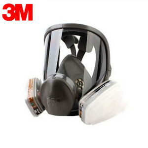 Real 3m 6800 Mask New Full Face Respirator Medium Ships From Usa