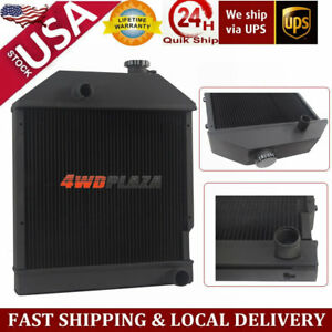 4row Tractor Radiator For Ford new Holland 250c 260c 3230 3430 3930 4130 4630