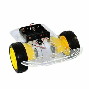 Pack Of 2 Contempoviews Intelligent Speed Car Chassis 5038 Robot Car For Kids