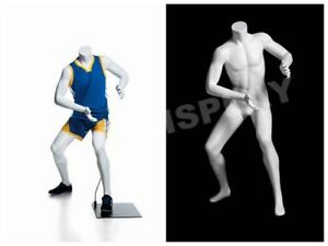 Headless Child Mannequin Playing Basketball Pose Display Dress Form mz kbk 2