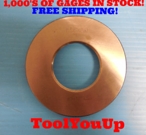 M55 X 1 Metric Thread Ring Gage 55 0 1 0 Quality Machinist Tooling Inspection
