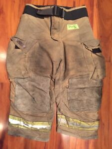 Firefighter Bunker Turnout Gear Pants Globe 34x26 G Extreme Halloween Costume