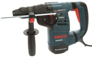 Bosch 8amp Corded 1 1 8 In Sds plus Variable Speed Rotary Hammer Drill no Tax