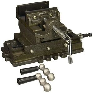 Universal 4 Cross Slide Drill Press Vise