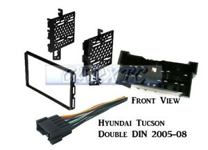 Combo Kit Double Din Radio Dash Install Amp Stereo Wire Harness Hyndd3