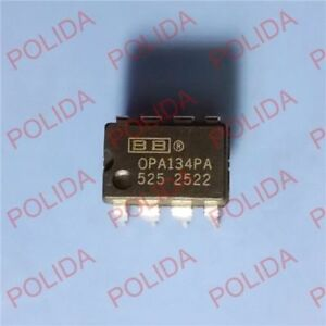 1pcs Op Amp Ic Burr brown bb ti Dip 8 Opa134pa Opa134pag4 100 Genuine And New