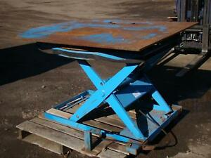 Lift Products Hydraulic Lift Table Rtmx35 3500lb Max Rtm1203 0502