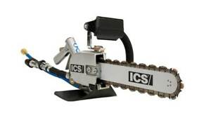 Ics 814pro Hydraulic Chain Saw Package 13 powerhead Bar And Chain