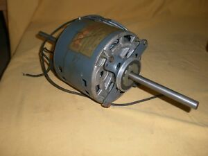 Ge Motor 5ksp39kg4935t 1 4hp 1ph 1550rpm 230v Double Shaft
