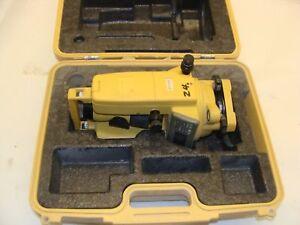 Topcon Dt 209 Advanced Digital Theodolite With Case