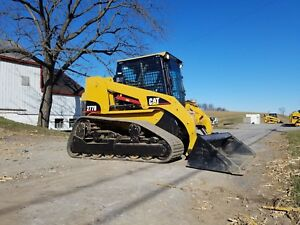 2004 Caterpillar 277b Compact Rubber Tracked Multi Terrain Skid Loader Cab Cat