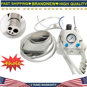 Portable Dental Turbine Unit Work air Compressor Triplex 3 Way Syringe Handpiece