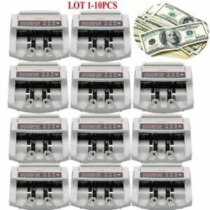 Bill Counter Money Cash Banknote Machine Count Currency Counting Usd Digital Fg