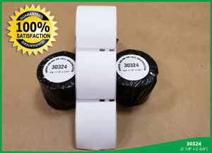 Mailing 400 Labels 30324 Address Paypal Shipping 20 Rolls White Dymo Compatible