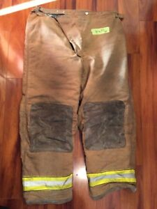 Firefighter Turnout Bunker Pants Globe 44x32 Halloween Costume 2000
