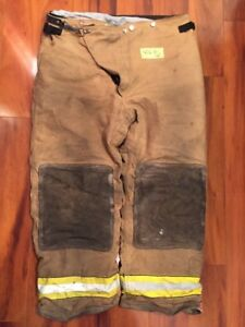 Firefighter Turnout Bunker Pants Globe 42x30 Halloween Costume 2004