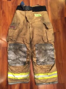 Firefighter Turnout Bunker Pants Globe 38x30 G Extreme Halloween Costume 2005