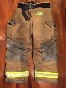 Firefighter Turnout Bunker Pants Globe 38x30 G Extreme Halloween Costume 2007