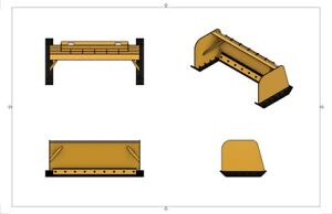 Diy Snow Pusher Box Plans For Skid Loader