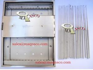 Rhoton Micro Dissector Surgical Set 15 Pieces With Case
