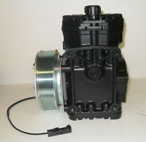 York Et210l 25224c New A C Ac Compressor With 8 Groove Clutch