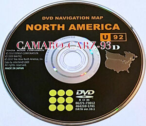 Toyota Navigation Dvd Map Disc Gen Vi Venza Avalon Camry Ver 10 1 U92