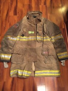 Firefighter Globe Turnout Bunker Coat 55x40 G xtreme Halloween Costume 2014