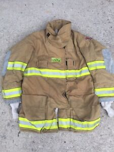 Firefighter Globe Turnout Bunker Coat 47x35 G xtreme Halloween Costume 2008