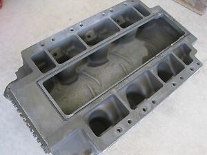 Ajpe 426 Hemi Blower Manifold 100 Top Fuel Nitro Magnesium Dragster