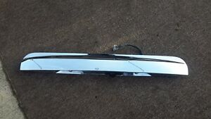 2007 2014 Ford Expedition Rear Liftgate Camera Plate Chrome Lid Lift Gate Oem