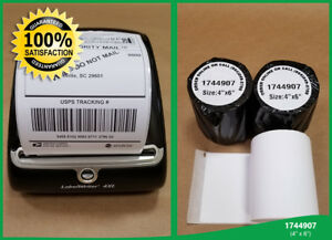 10 Rolls 1744907 Dymo 4xl Twin Turbo Compatible Shipping Postage Labels