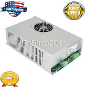 Ac 110v 100w Laser Power Supply For Co2 Laser Engraver Cutter Machine Myjg 100w