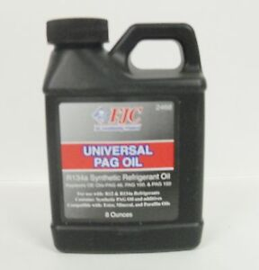 Universal Pag Oil R134a Synthetic Refrigerant Oil 8 Ounces