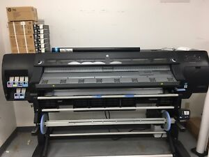 Hp Latex L26500 61 Wide Format Printer posters Banners Vehicle Graphics